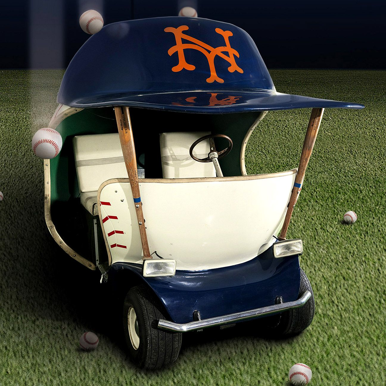 New York Mets Bullpen Cart Fetches 112 500 At Auction
