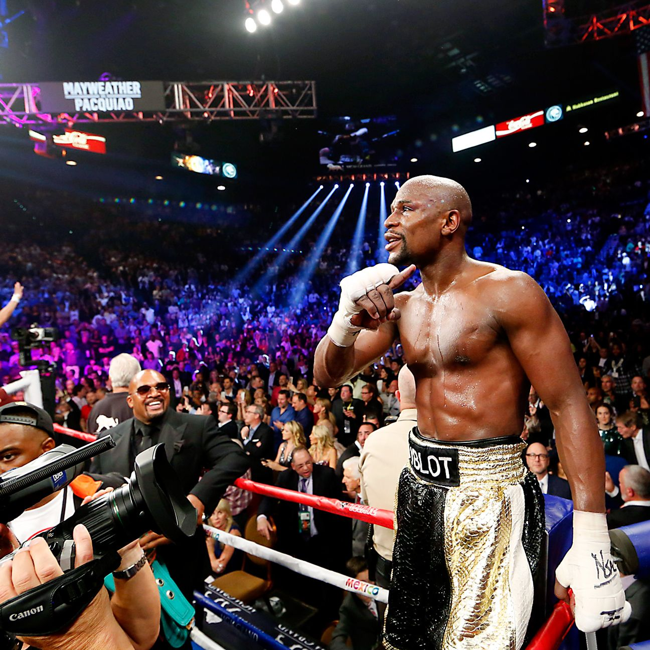 Floyd Mayweather-Manny Pacquiao Fight Shatters All-time