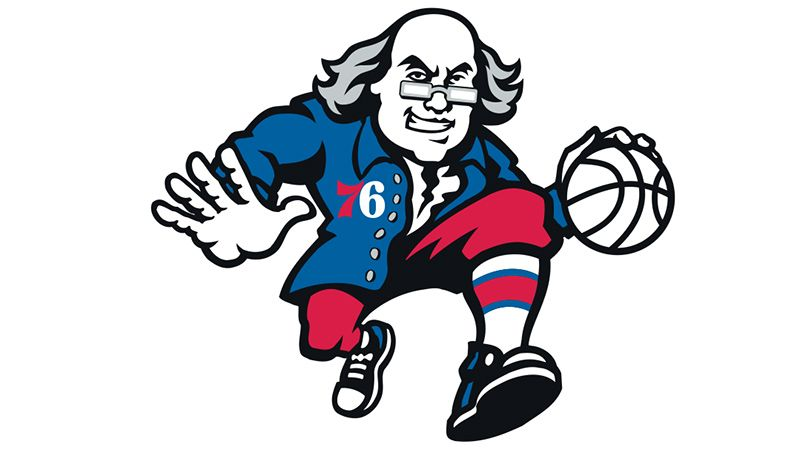 Lukas Sixers Score With Ben Franklin Logo