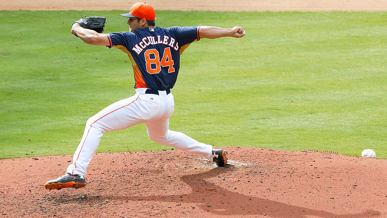 Astros RHP McCullers set for return to rotation