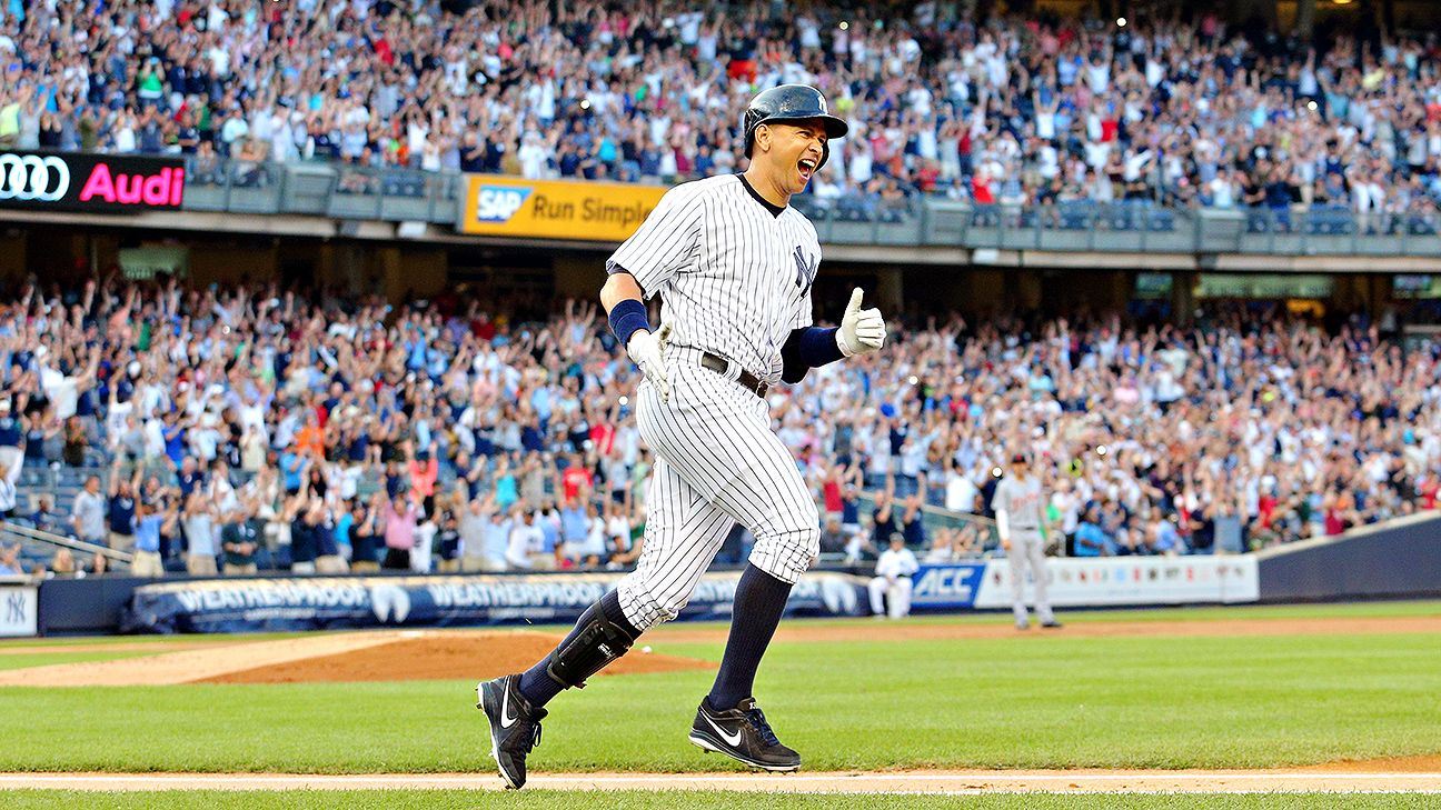 Alex Rodriguez notches 3,000th hit as Yankee Stadium crowd erupts