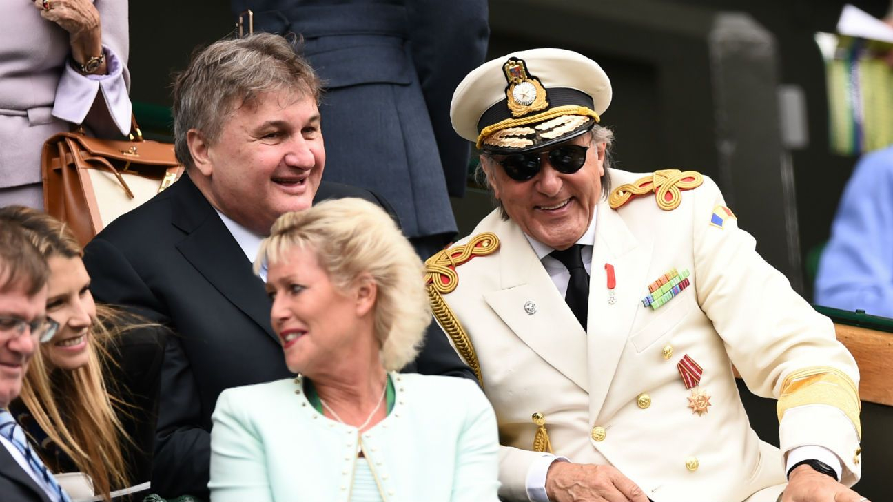 Wimbledon Diary Nastase dictates his own style