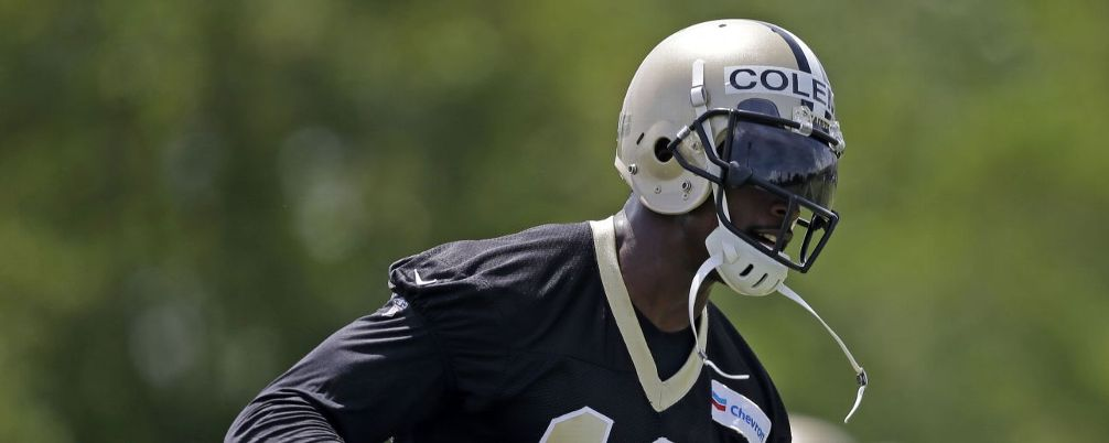 Jerseys NFL Outlet - Buzz around Saints WR Brandon Coleman should pick up again this ...