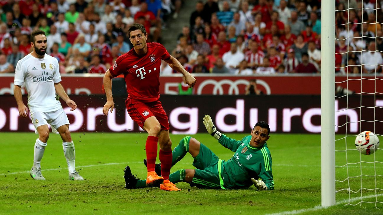 Bayern Munich Beat Real Madrid For Audi Cup Spurs Third