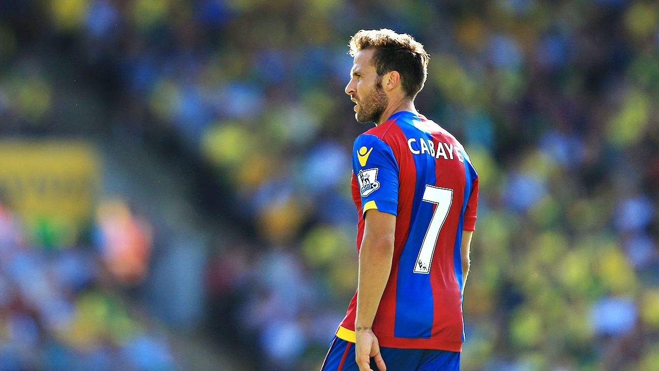 Crystal Palace star Yohan Cabaye fit to face Manchester City