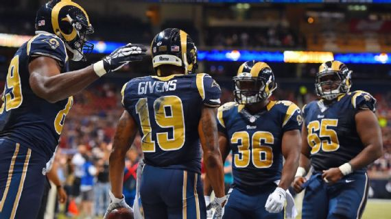 nfl GAME Los Angeles Rams Chris Givens Jerseys