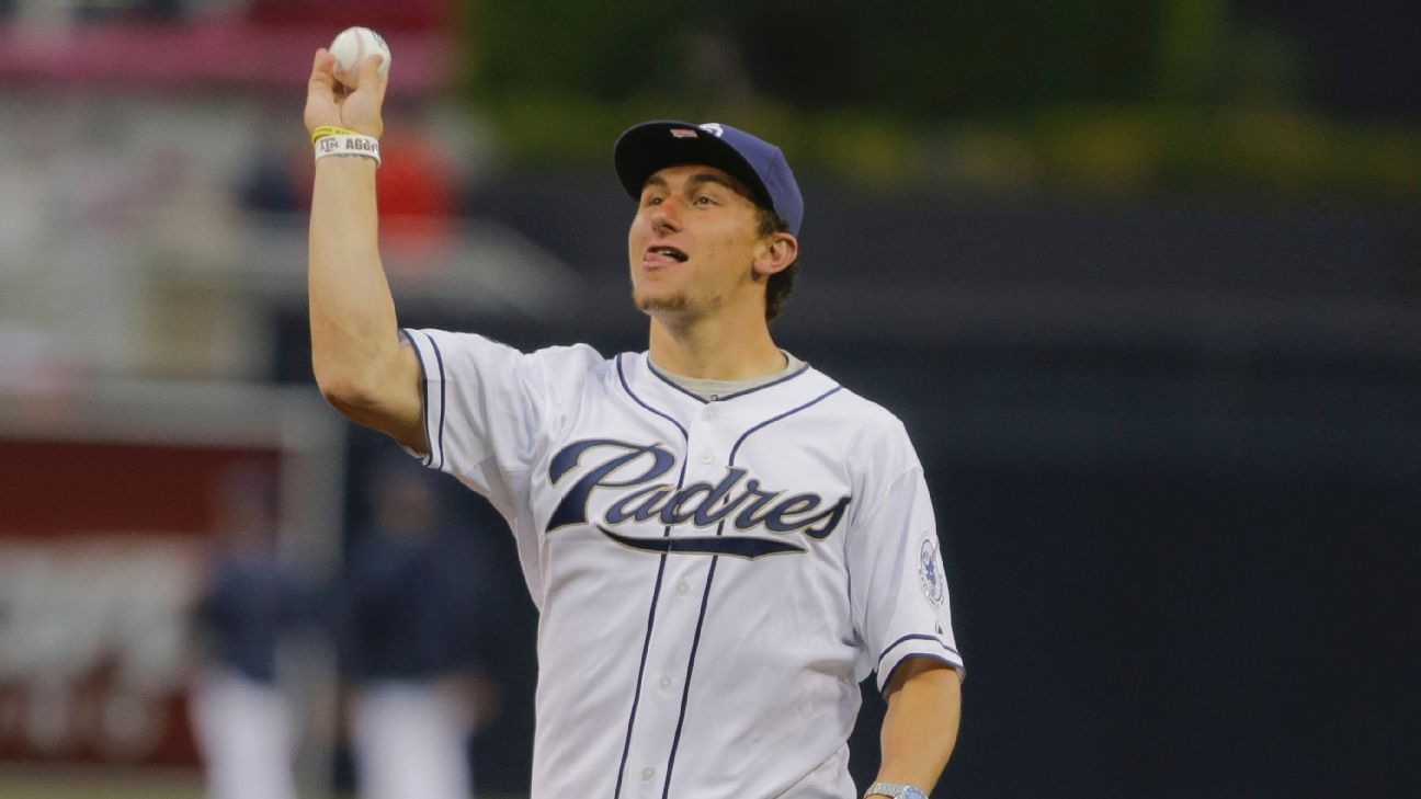 Johnny Manziel Was Johnny Baseball For San Diego Padres At
