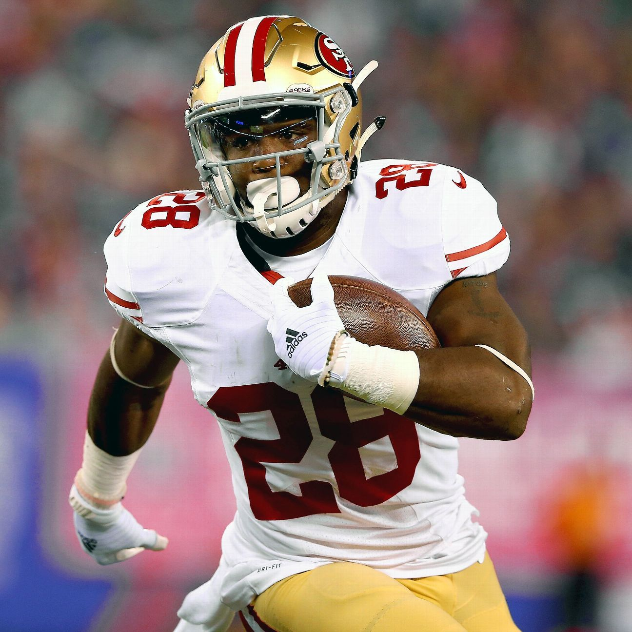 San Francisco 49ers RB Carlos Hyde Dealing With Stress