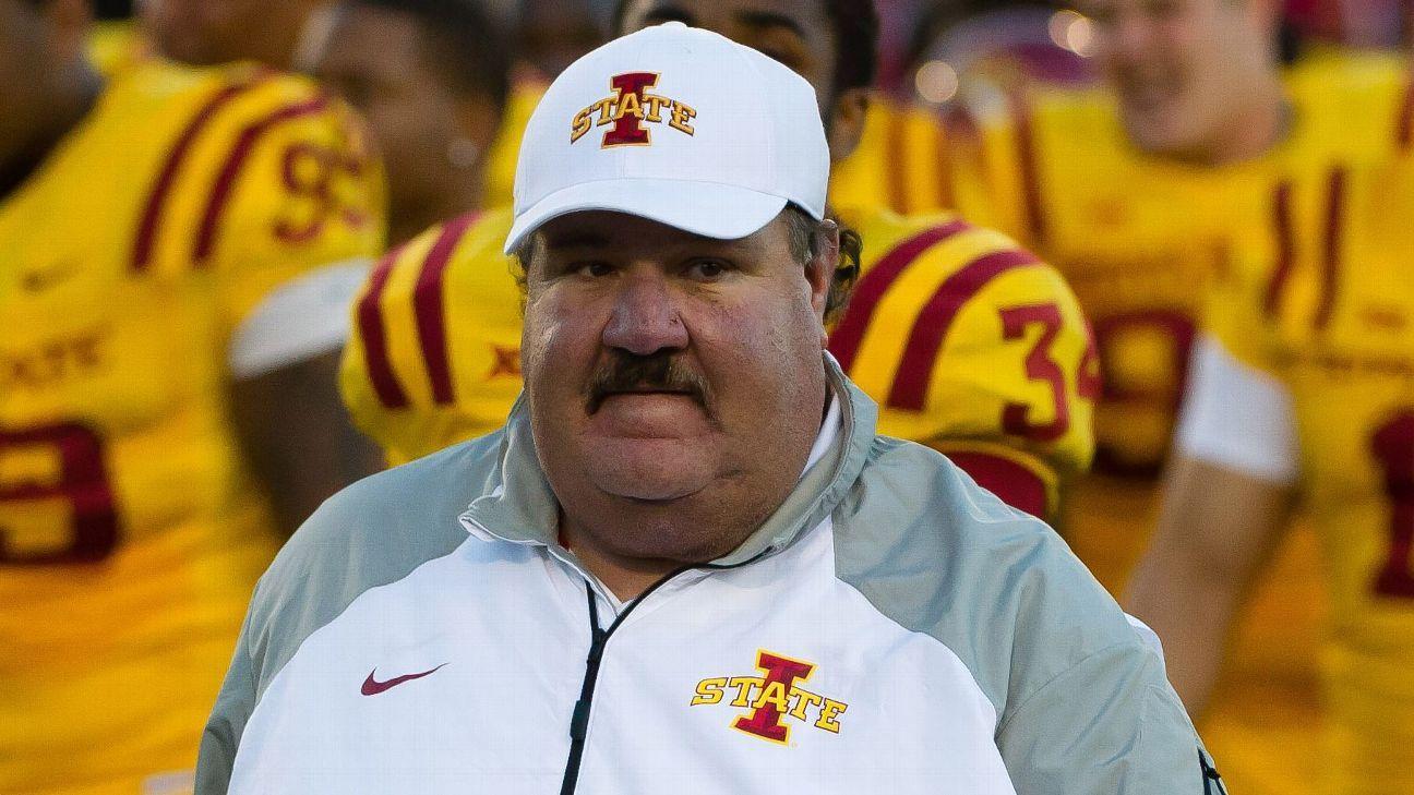 Iowa State Cyclones fire offensive coordinator Mark Mangino