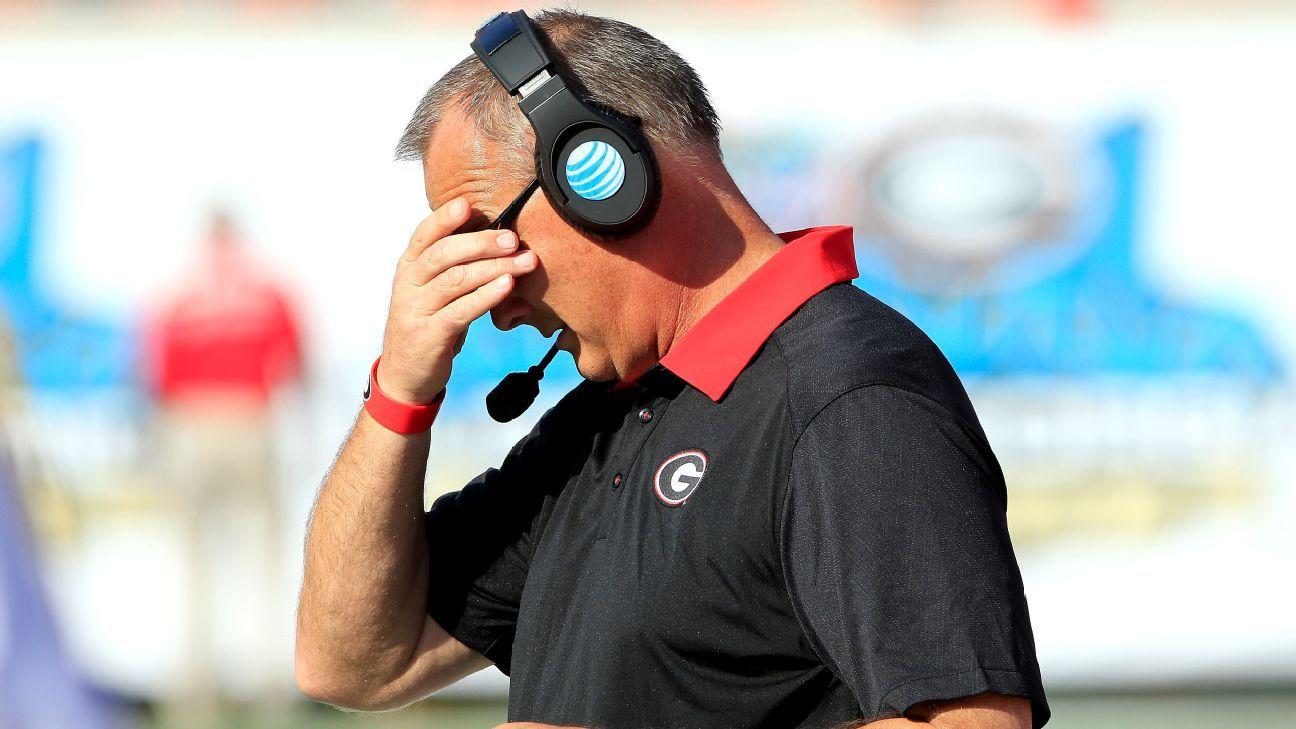 Mark Richt says Georgia 'can't go backward' against Auburn