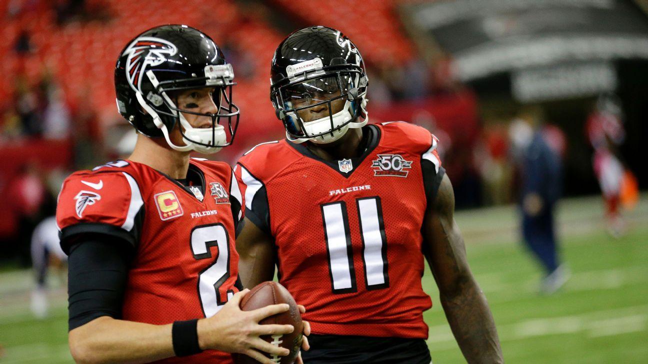 Atlanta Falcons' Julio Jones: Matt Ryan Not Going To Tank