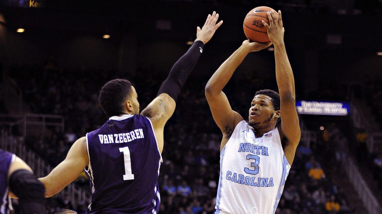 North Carolina forwards Kennedy Meeks and Justin Jackson will enter NBA draft