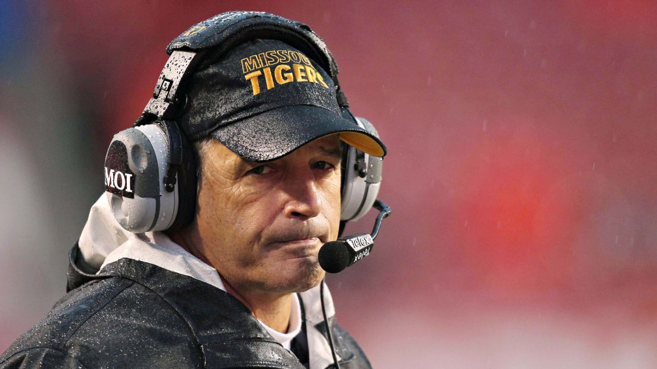 Gary Pinkel stays upbeat as Missouri routed in coach's likely finale
