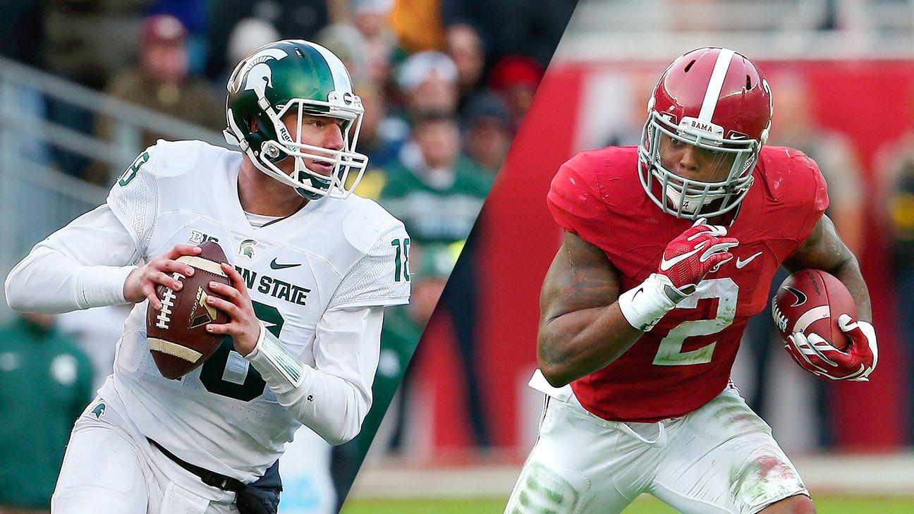 Cotton Bowl Classic: Michigan State Spartans vs. Alabama ...