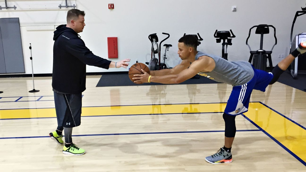 NBA: Inside the unorthodox training routine of Golden State Warriors' Stephen Curry