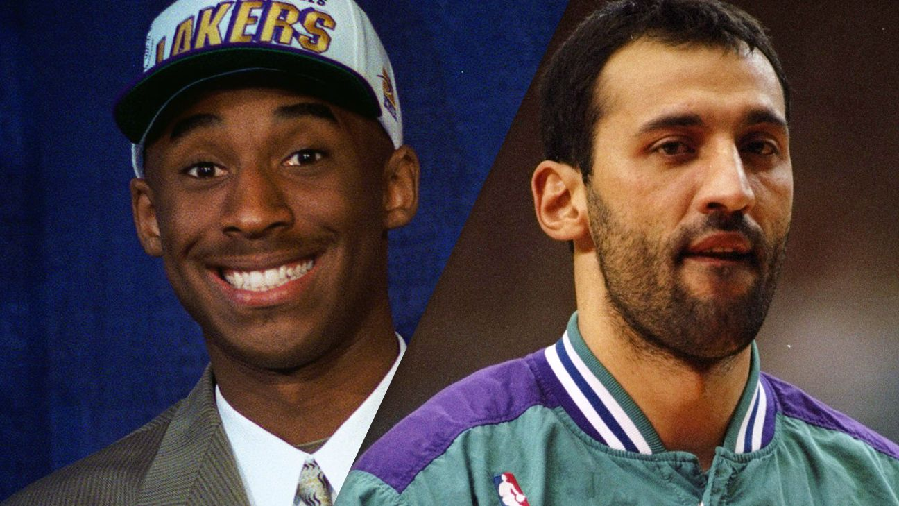 NBA Vlade Divac says trading him for Kobe Bryant was a no brainer