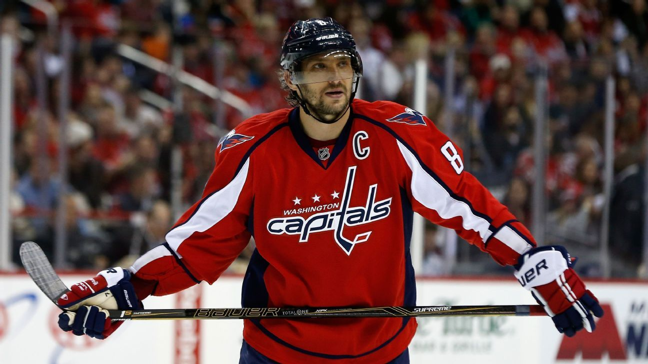 NHL -- On Cusp Of 500 Goals, Washington Capitals Alex Ovechkin Still Hungry For More
