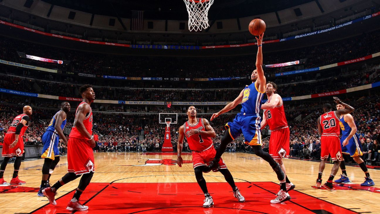 Bulls 'let go of the rope' in loss to Warriors