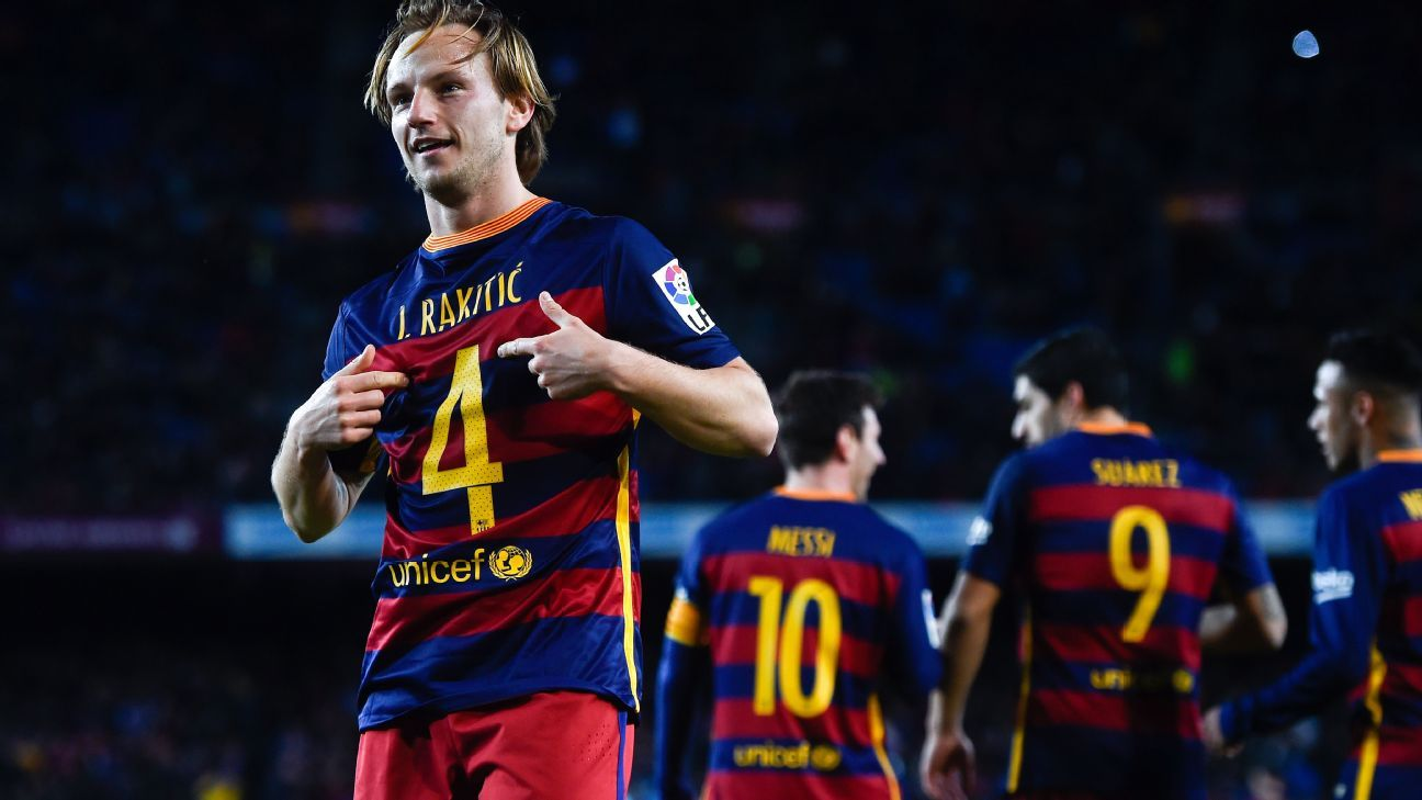 Barcelona s Ivan Rakitic rejects speculation about future