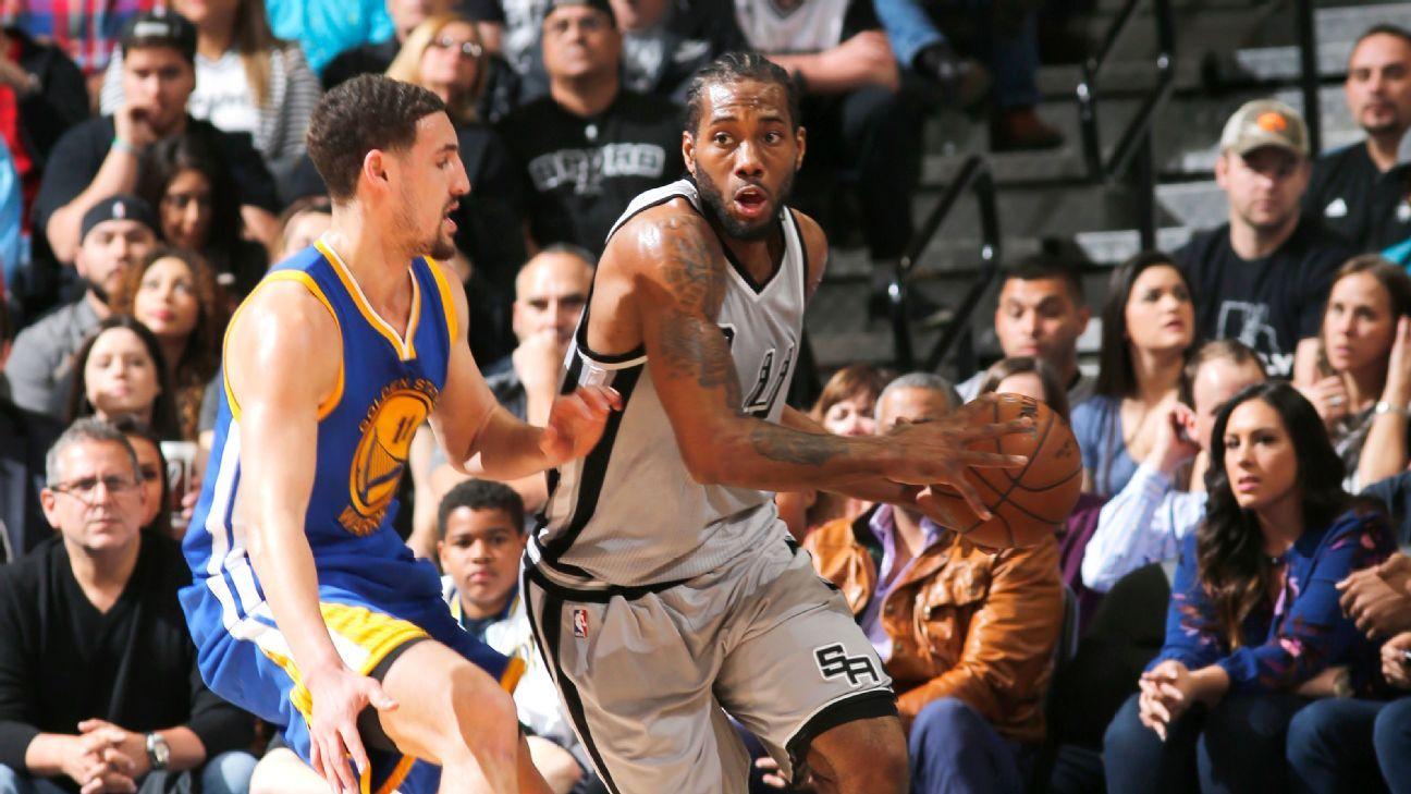 San Antonio Spurs playoff favorites over Golden State ...