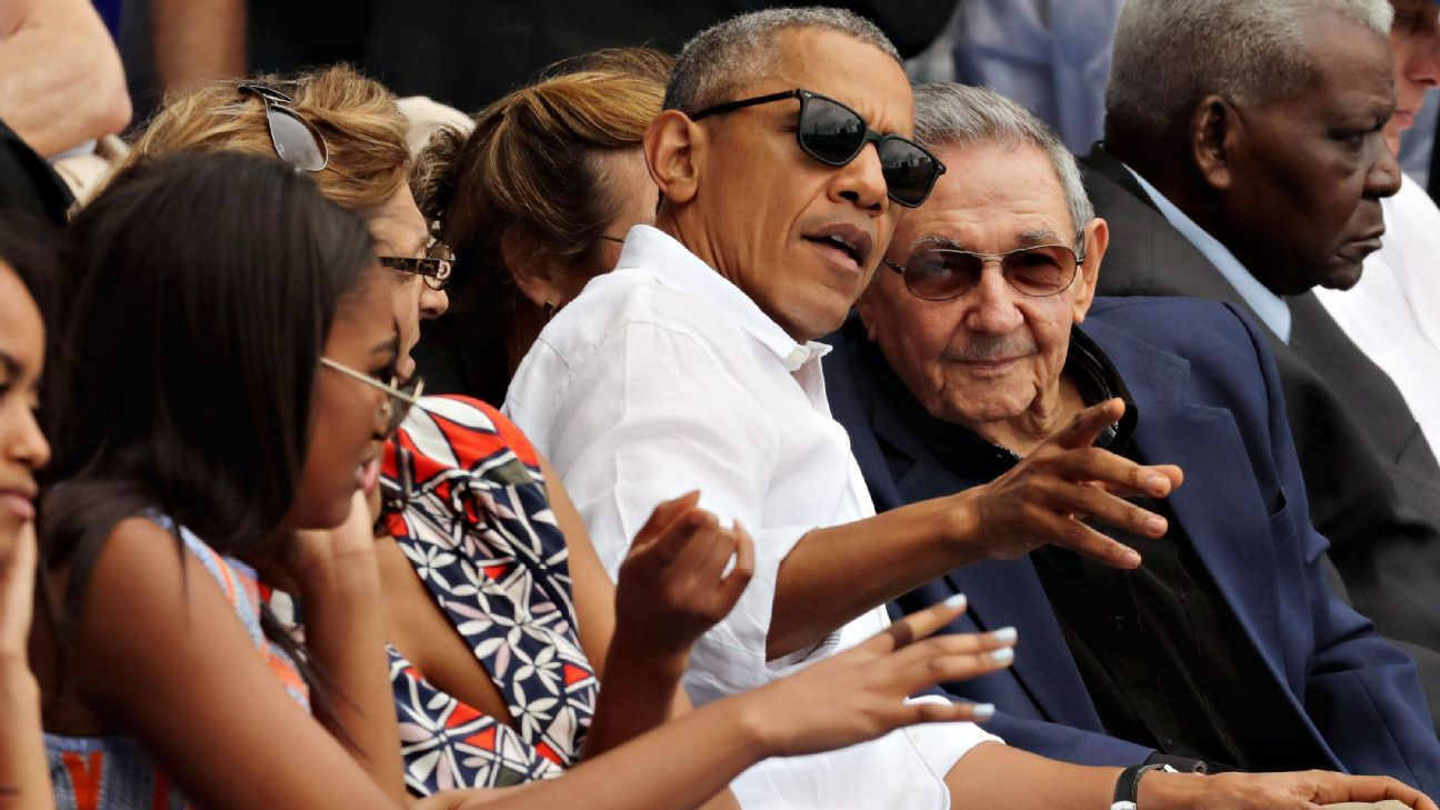 Rays beat Cuban team with Barack Obama, Raul Castro in attendance