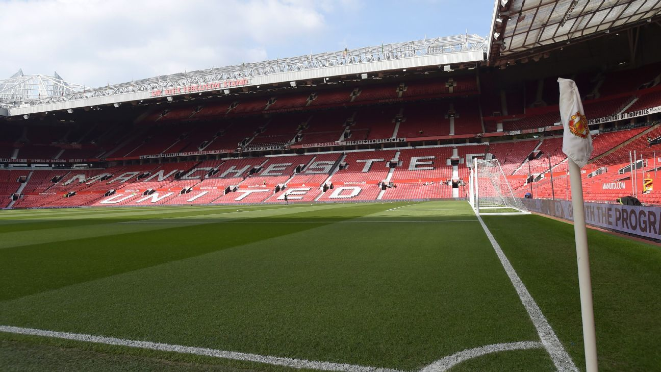 old trafford north stand back views