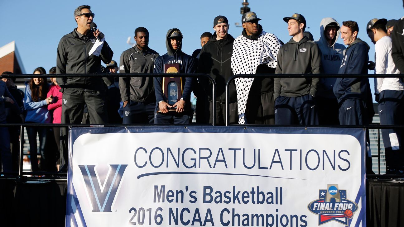 Villanova wildcats return home celebrate title with pep rally