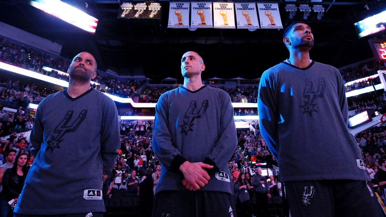 Spurs' big three approaching playoffs with sense of urgency