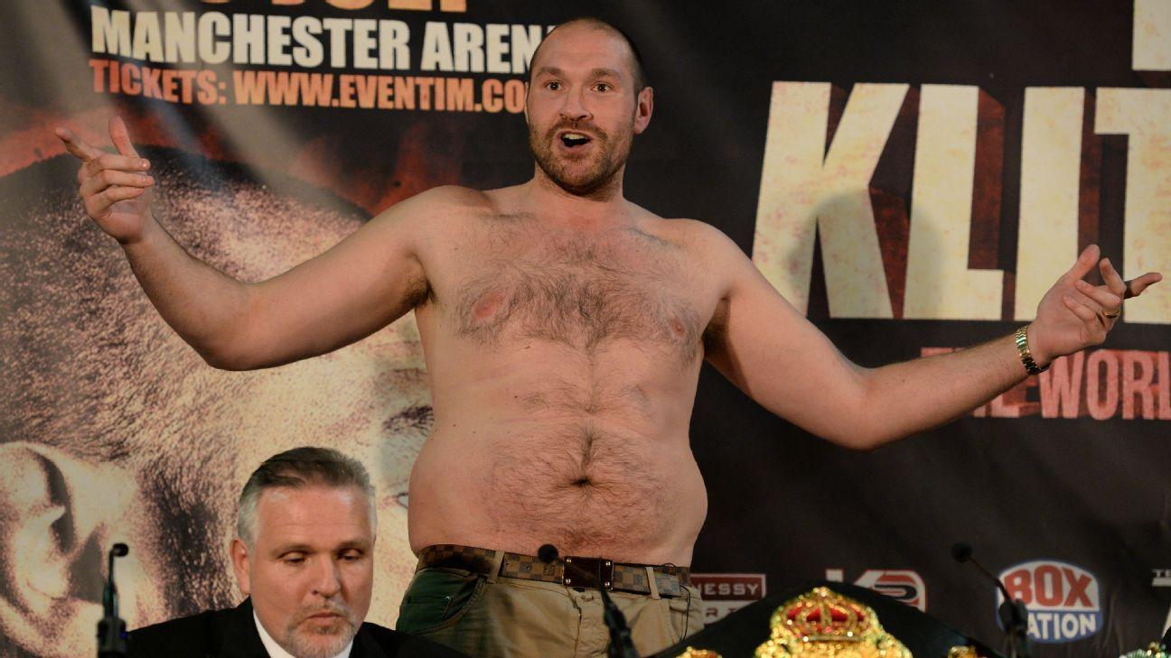 Tyson Fury Gewicht