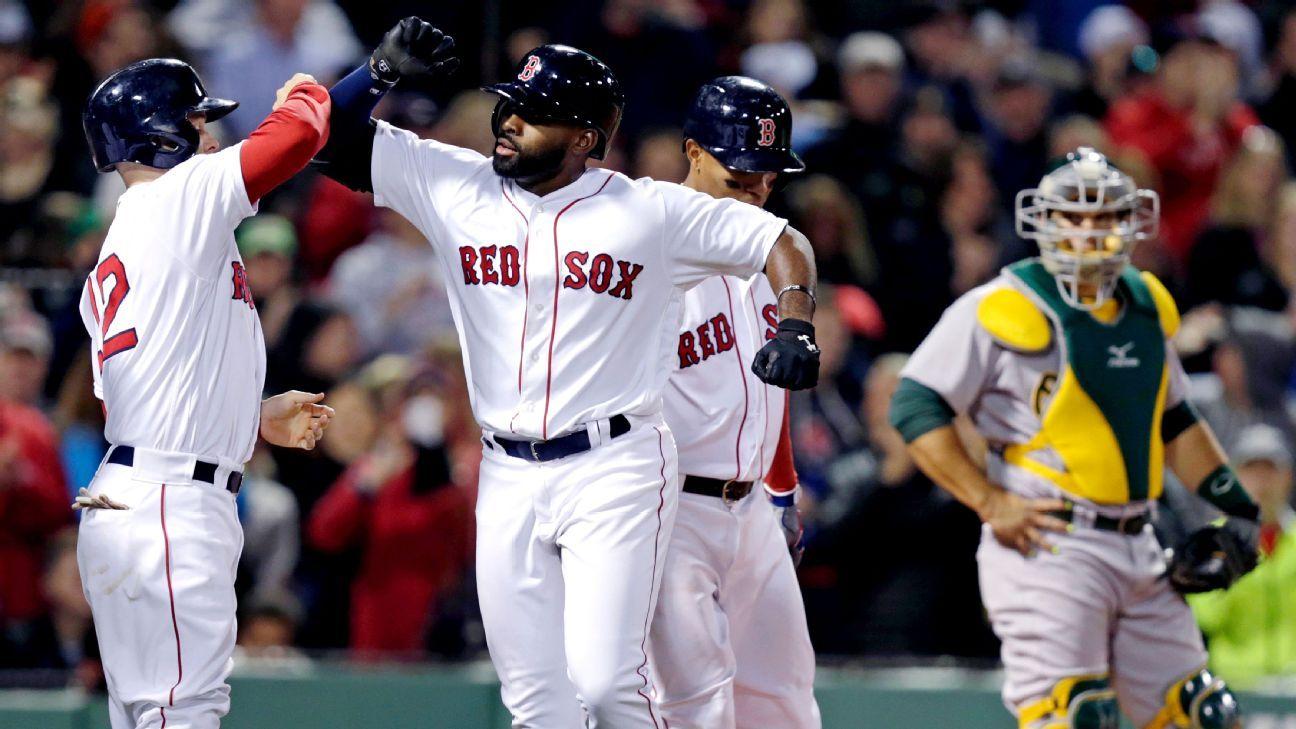 Hot start earns Jackie Bradley Jr. move up the Boston Red Sox's order - Boston Red Sox Blog-  ESPN
