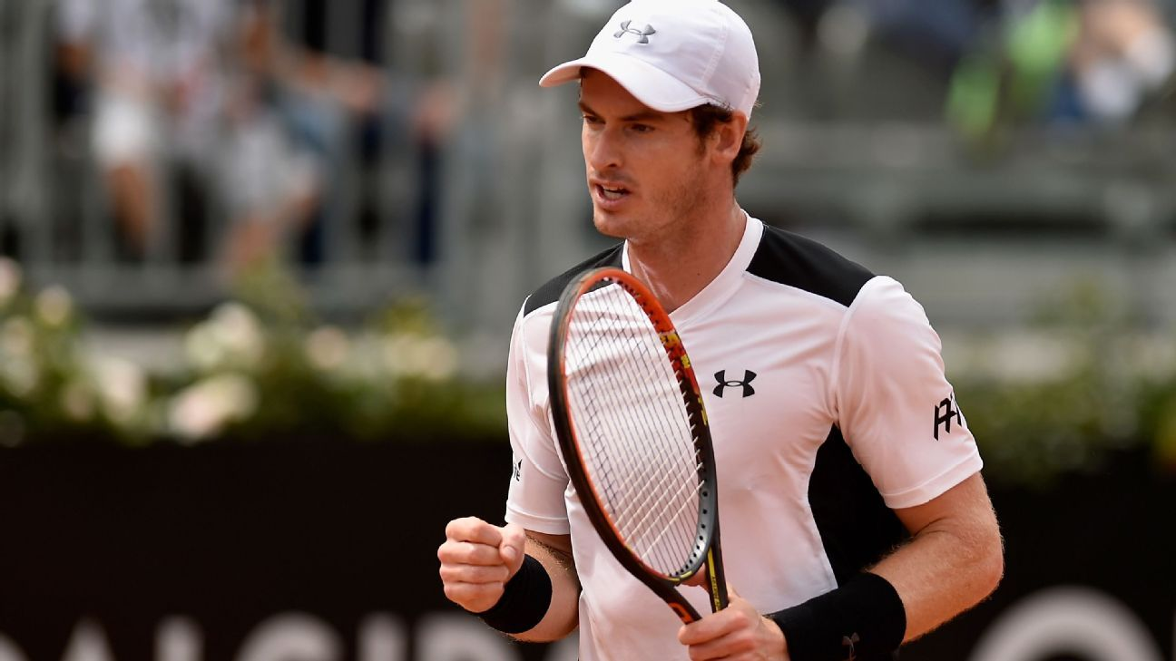 Andy Murray overtakes Roger Federer to be seeded second for French Open at Roland Garros