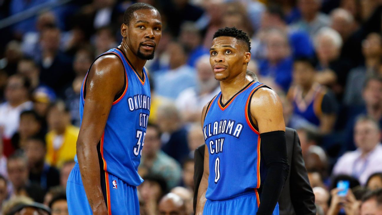 Real friends: How the Kevin Durant-Russell Westbrook partnership bent but never broke