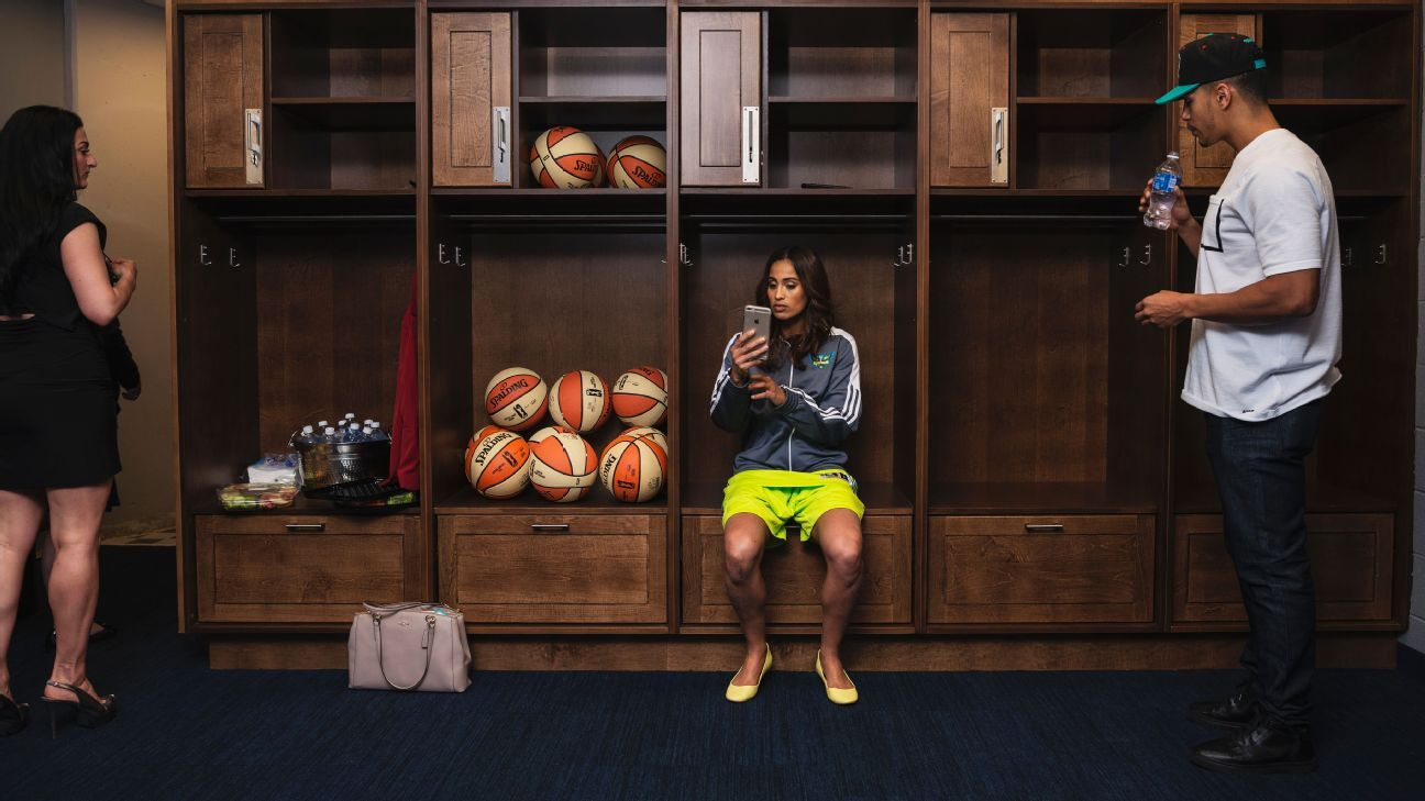 Dallas Wings star Skylar Diggins wants to change the marketing game for WNBA players