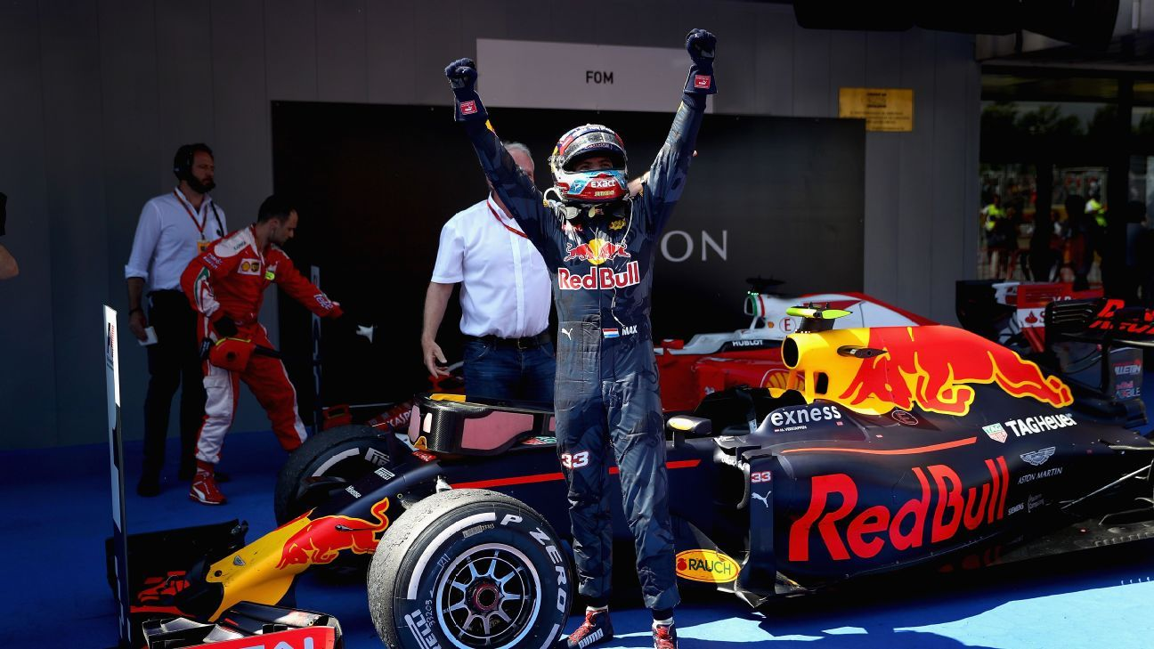 Go Kart Racing Pa >> Max Verstappen - First F1 win an 'amazing' feeling