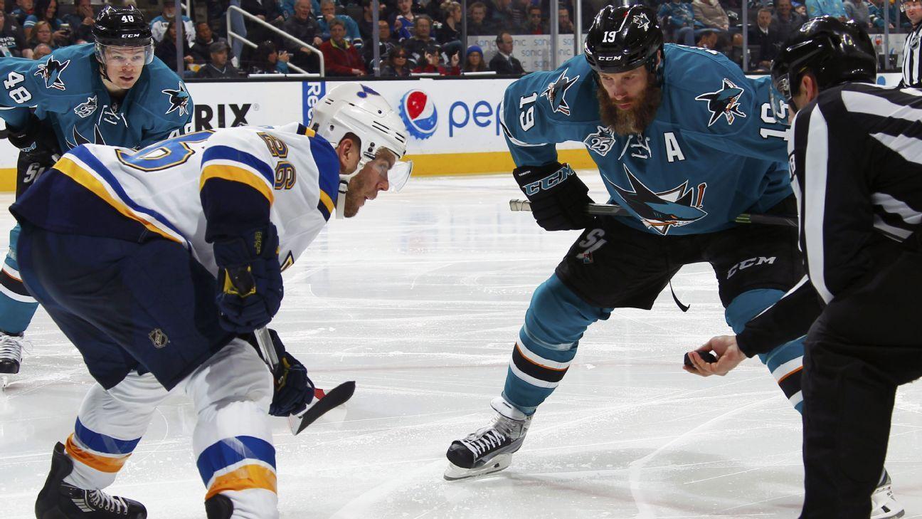 W2W4: San Jose Sharks at St. Louis Blues, Game 1 - Cross Checks Blog-  ESPN