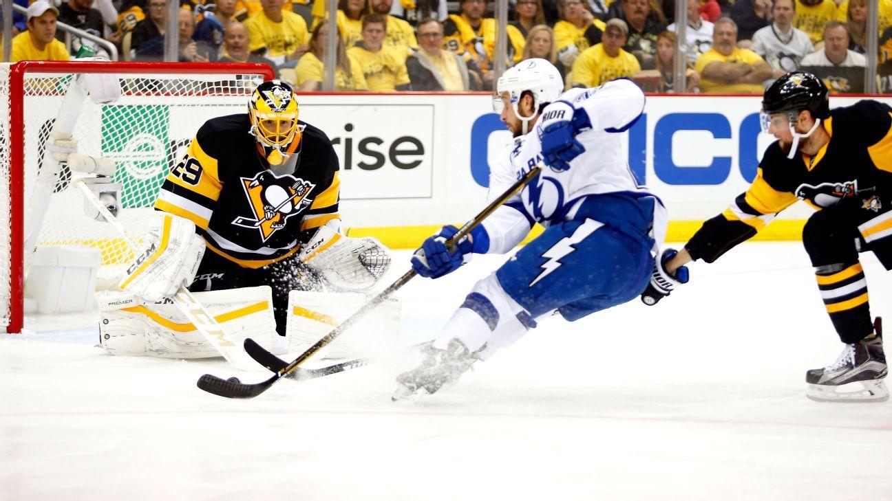 Rapid Reaction: Tampa Bay Lightning 4, Pittsburgh Penguins 3 (OT) - Cross Checks Blog- ESPN