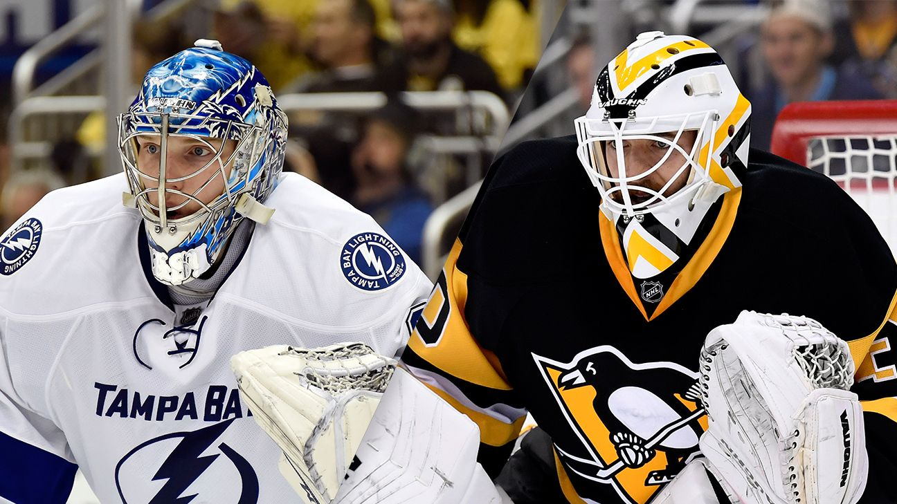 Pittsburgh Penguins, Tampa Bay Lightning have goaltending decisions to make this offseason - NHL
