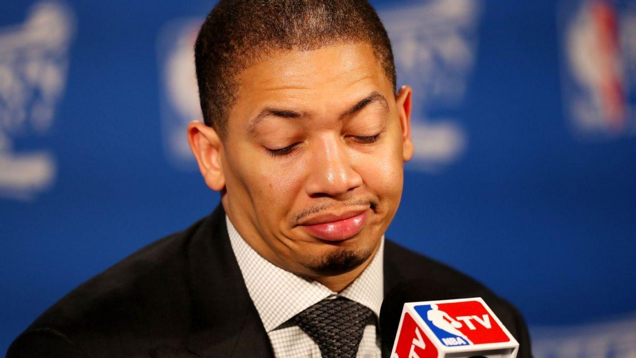 Tyronn Lue says LeBron James never gets calls after loss ...