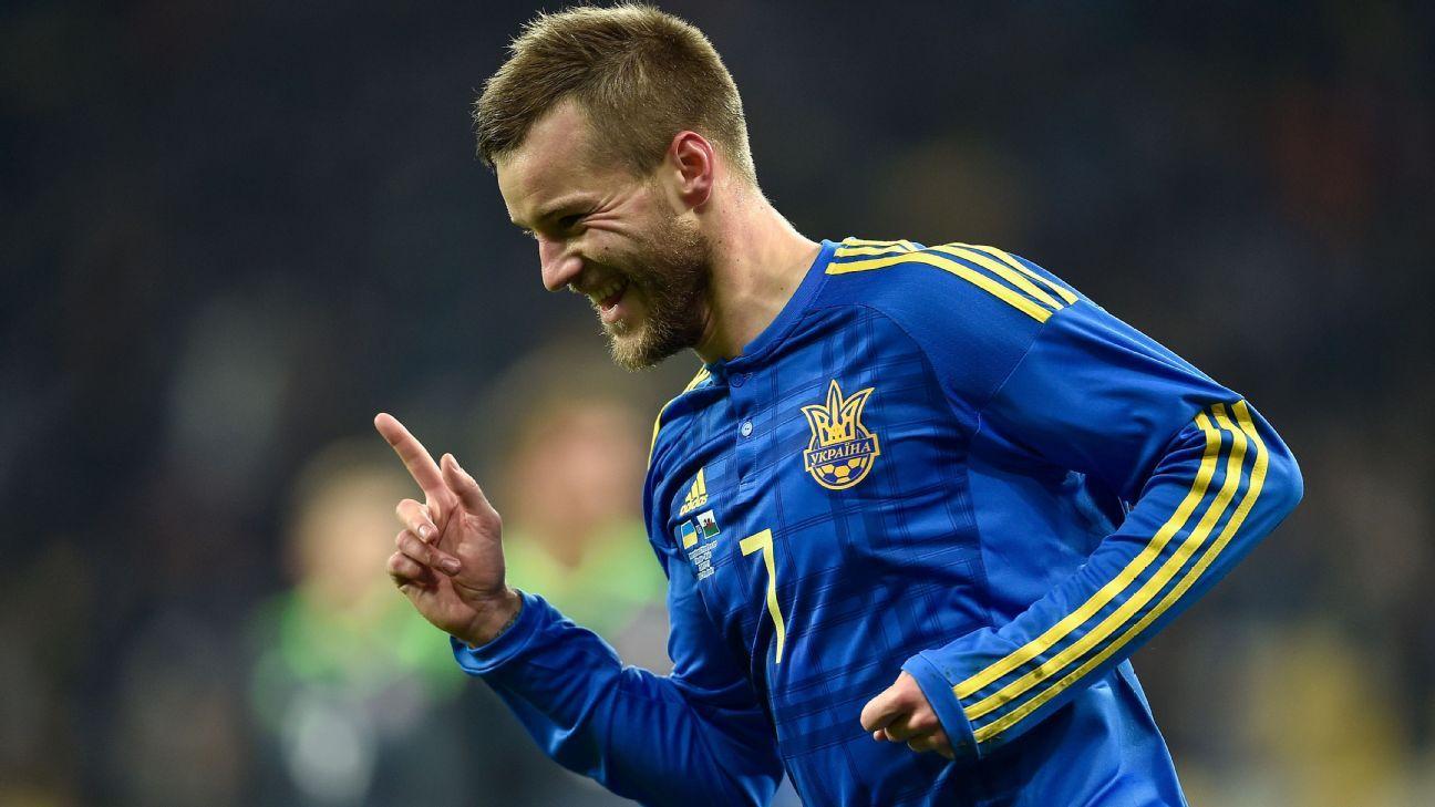 Borussia Dortmund sign Andriy Yarmolenko from Dynamo Kiev