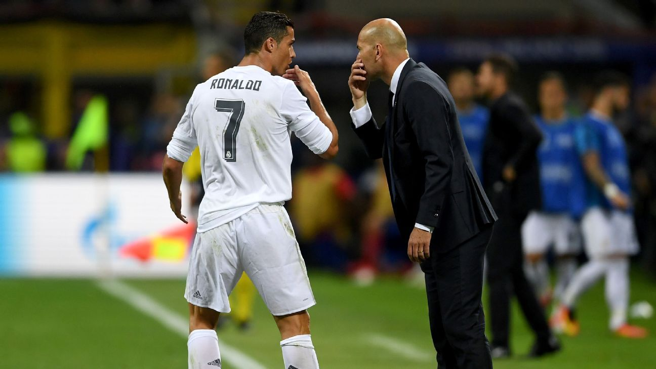 The secret to Ronaldo's success? Another star