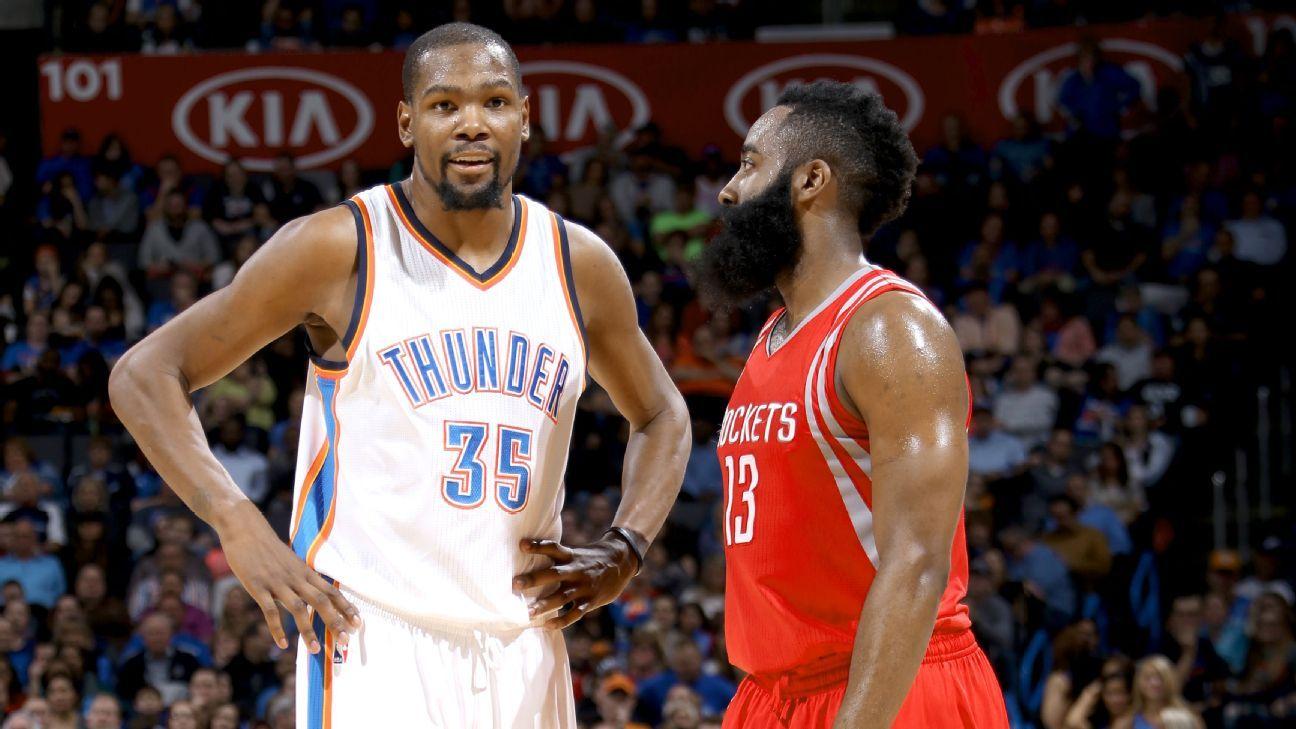 Houston Rockets' free-agency wish list starts with Kevin Durant - Houston Rockets Blog- ESPN