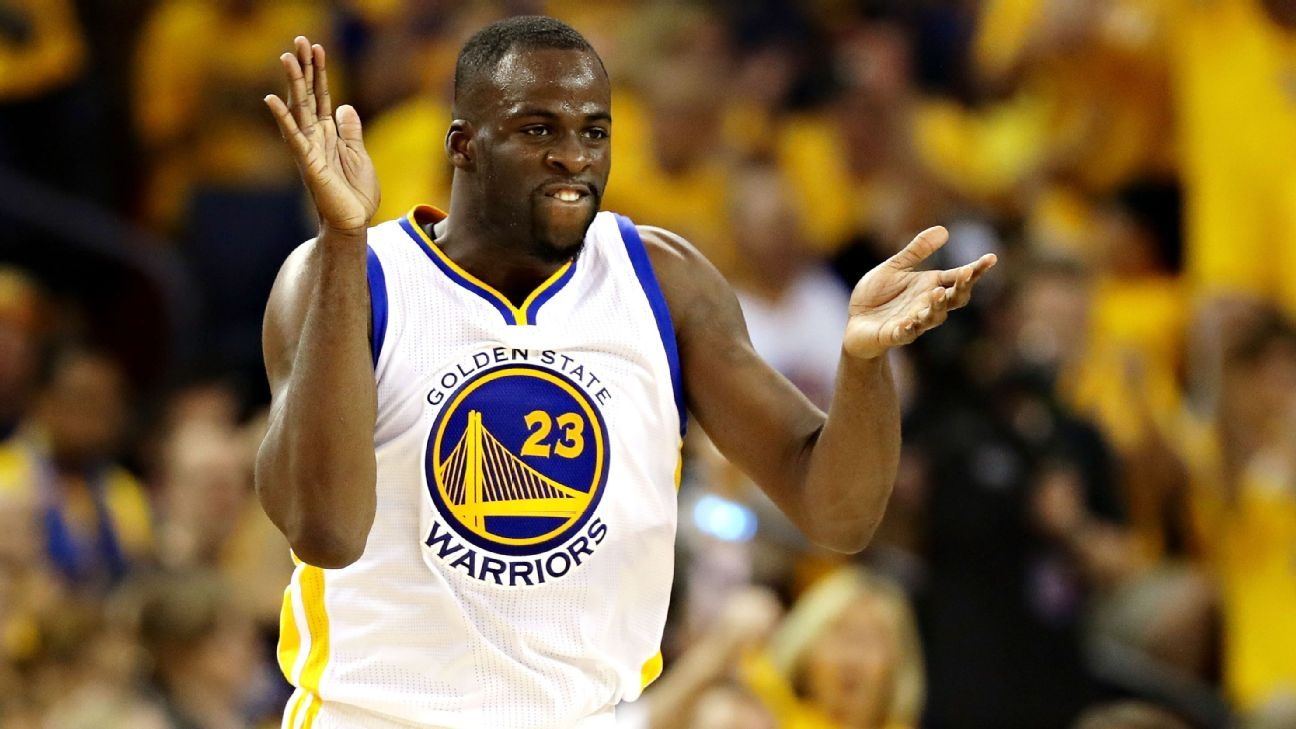 Warriors' Draymond Green embraces playoff scrutiny: 'It's fun'