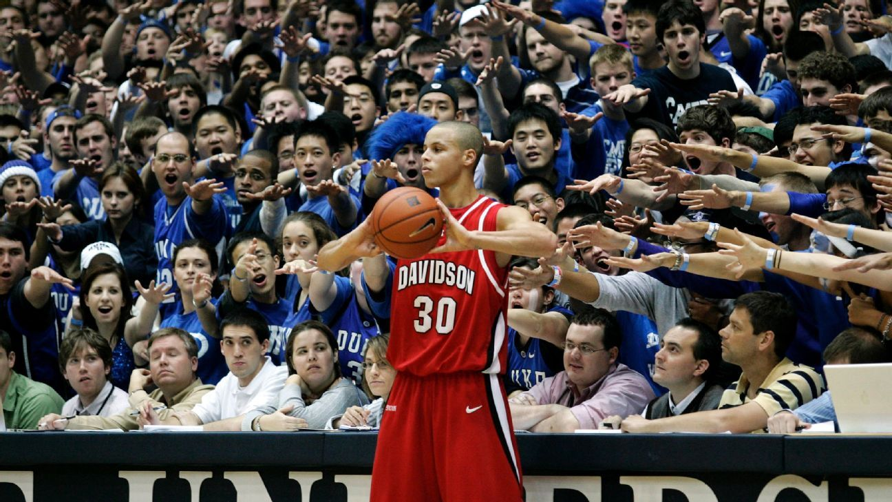 The legend of Stephen Curry started at Davidson