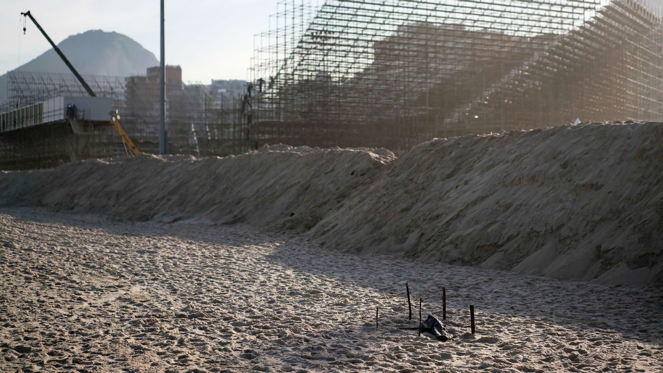 Body Parts Found Near Rio De Janeiro Beach Volleyball