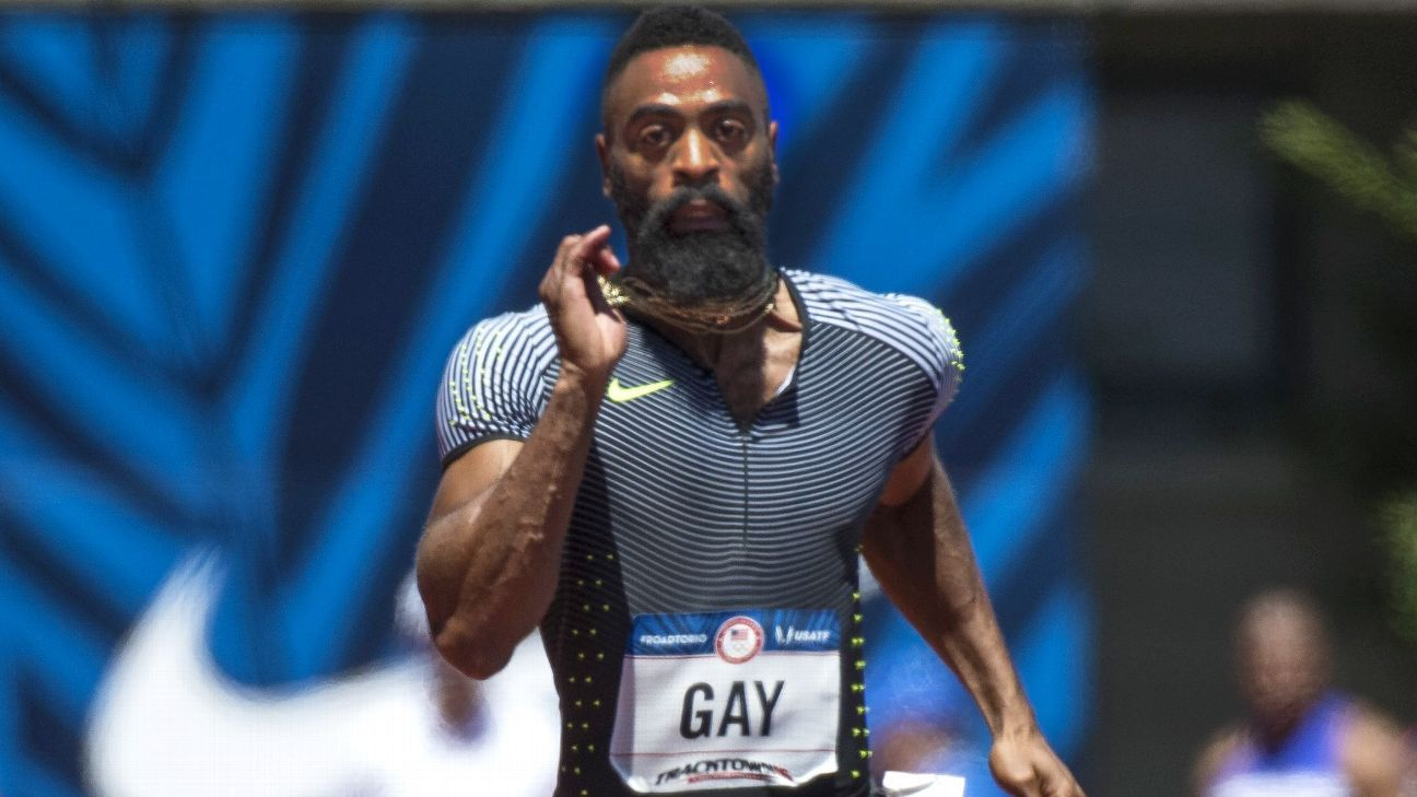 tyson gay how tall
