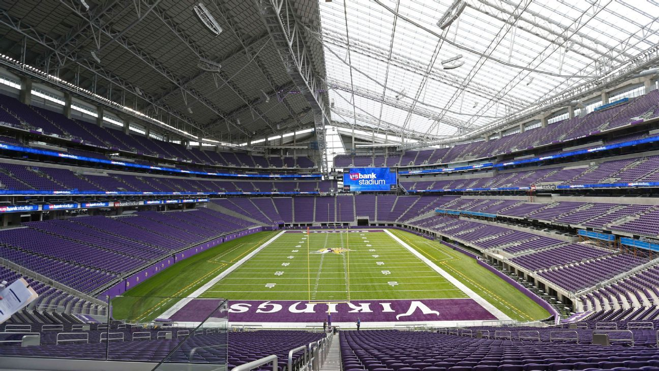 Minnesota Vikings Challenge At U S Bank Stadium