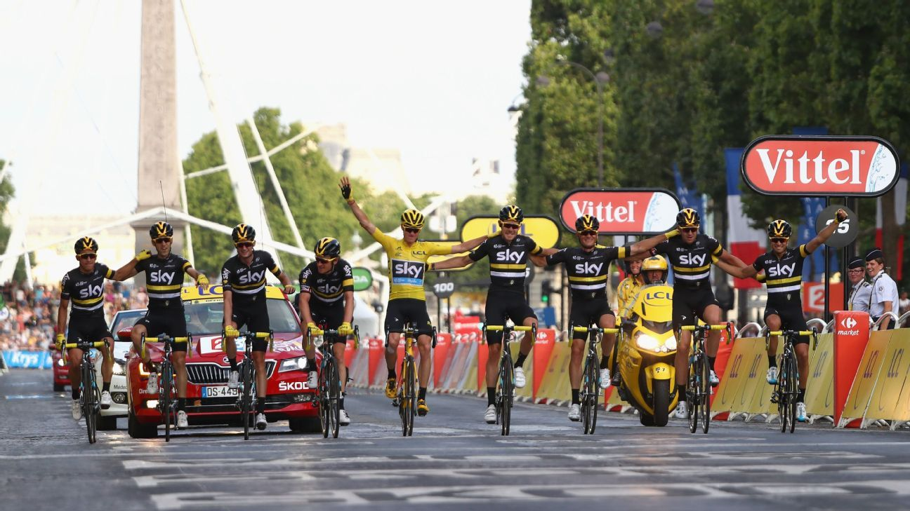Chris Froome wins Tour de France as Andre Greipel edges final stage sprint finish