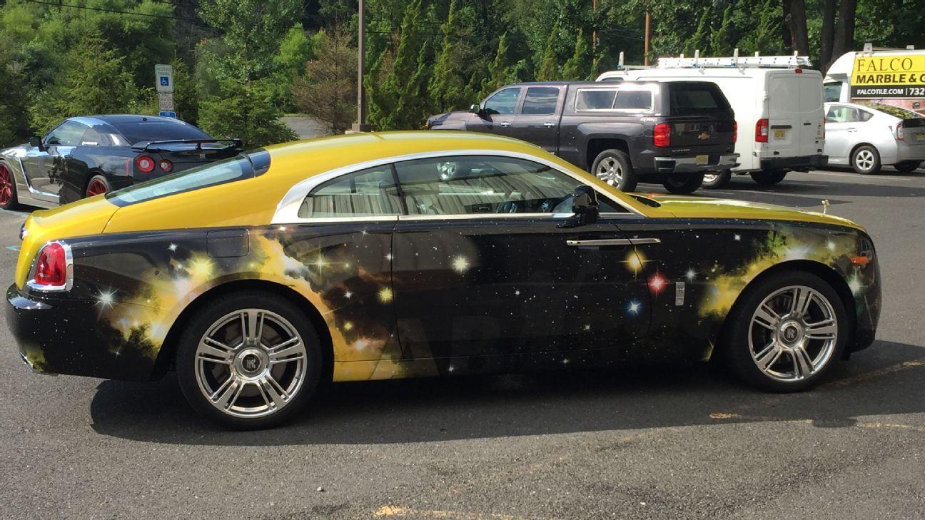 Antonio Brown S Car