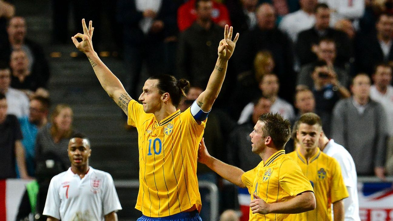 LA Galaxy's Zlatan Ibrahimovic: Chance of Sweden return at World Cup 'sky high'