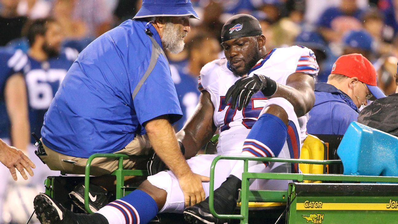 Jared Goff, Carson Wentz lead NFL Week 1 preseason injury list
